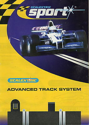 Scalextric 2007 Advanced Track System Leaflet