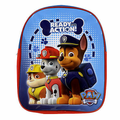 Official Licensed Paw Patrol Childrens Backpack Childs Paw Patrol School Bag