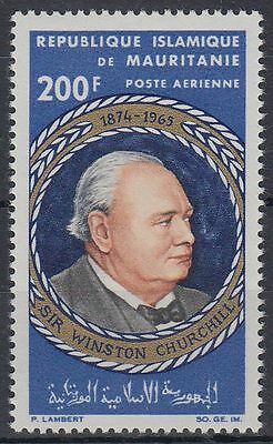 Mauretanien 1965 ** Mi.265 Politiker Politician Winston S. Churchill [sq5596]