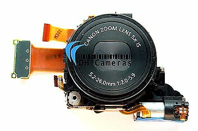 Canon PowerShot S100 12.1 MP Camera Lens Zoom Unit 5x Optical + CCD - Black USA