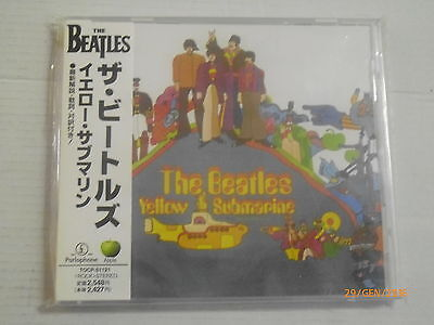 THE BEATLES - YELLOW SUBMARINE - JAPANESE CD with OBI - TOCP 51121