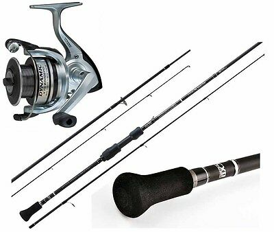 KP1840 Kit Spinning Rapture Trabucco Canna invader  Mulinello Pesca xtc 20 RN
