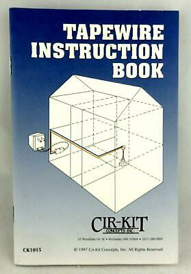 Dolls House DIY Cir-Kit Tapewire Instruction Booklet For Wiring your House