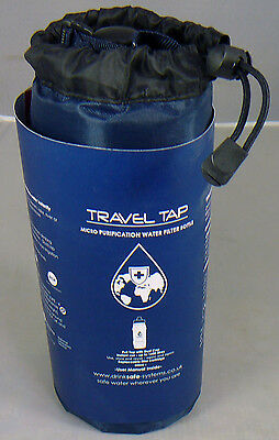 Travel Tap 800ml Pure water filter bottle
