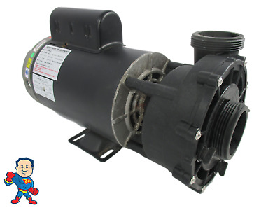 """Spa Hot Tub 56Fr Guangdong LX Pumps 2"""" X 2"""" 4.0HP 2 Speed 230V  WUA Video How To"""