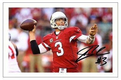 Carson Palmer Arizona Cardinals Signed Photo Autograph Print Nfl Football