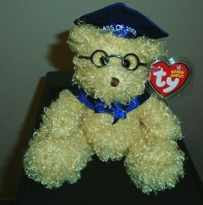 Ty Beanie Baby ~ HONORS the 2006 Graduation Bear ~ MINT with MINT TAGS ~ RETIRED