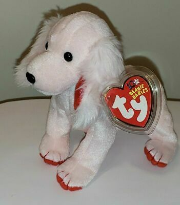 58a9a3b8d1c TY BEANIE BABY - SONNET the Pink Poodle (6 inch) - MWMT s Stuffed ...