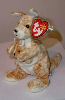 564dc7092ea Ty Beanie Baby ~ RICOCHET the Kangaroo ~ MINT with MINT TAGS ~ RETIRED