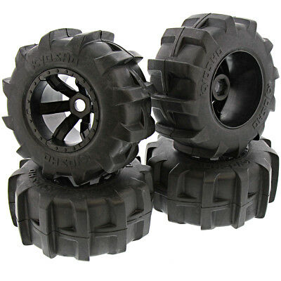 Kyosho 1/8 FO-XX 4WD RS * PADDLE TIRES, FOAM INSERTS & SIX SPOKE WHEELS * 17mm