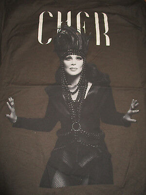 "2014 CHER Dress to Kill ""D2k"" Tour Concert (LG) T-Shirt"