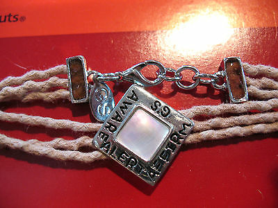 CHARM BRACELET Girl Scout Journey Unique GIFT All Ages Adjustable New