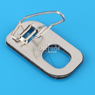 Silver Stainless Steel Catapult Arrow Rest Brace for Flat Surface Recurve Bow