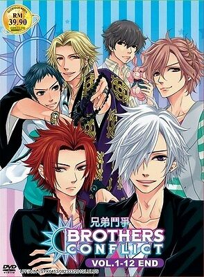 BROTHERS CONFLICT TV   Episodes 01-12   English Subs   2 DVDs (GM0109)-LU