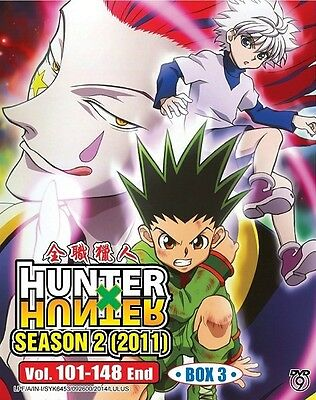HUNTER x HUNTER S2 Part 3 | Episodes 101-148 | English Subs | 4 DVDs (GM0200)