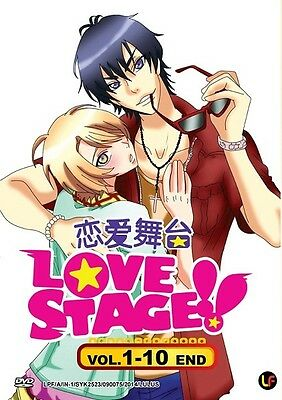 LOVE STAGE TV | Episodes 01-10 | English Subs | 1 DVD (M2037)-LU