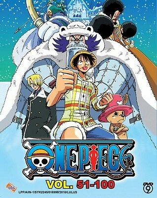 ONE PIECE TV Box 02 | Episodes 051-100 | English Subs | 4 DVDs (VBG0060)-LU