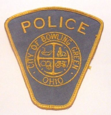 Bowling Green Ohio Police Shoulder Patch