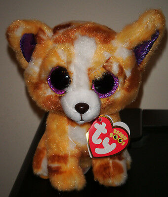 "Ty Beanie Boos ~ PABLO the 6"" Chihuahua Dog Stuffed Plush Toy (New) 2016 Design"