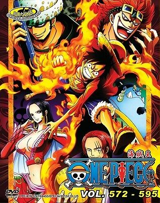 ONE PIECE TV Box 15 | Episodes 572-595 | English Subs | 6 DVDs+CD (GM0059)-LU