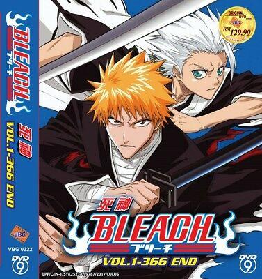 *Neu* BLEACH Complete Box Set | Eps.001-366 | English Subs | 16 DVDs (VBG0322)