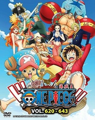 ONE PIECE TV Box 17 | Episodes 620-643 | English Subs | 6 DVDs (GM0122)-LU
