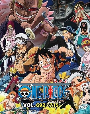 ONE PIECE TV Box 20 | Episodes 692-715 | English Subs | 6 DVDs (GM0256)-LU