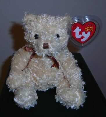 Ty Beanie Baby ~ HERSCHEL the Bear Cracker Barrel Exclusive~ MINT with MINT TAGS