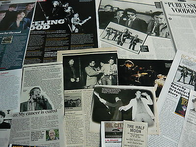 Dr Feelgood/wilko Johnson - Magazine Cuttings Collection (Ref X1A)