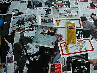 New Order - Magazine Cuttings Collection (Ref 3A)