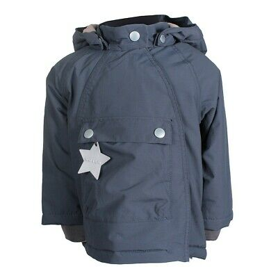 Mini A Ture Wang Jacket Children Baby Fleece Inside Thermolite Ombre Blue