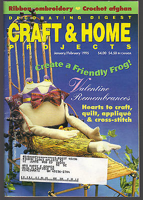 Decorative Digest Craft & Home Projects January February 1995