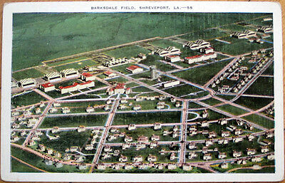 1940 Shreveport, Louisiana Postcard: Barksdale Field - LA