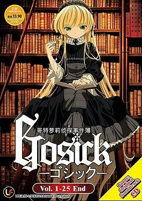 GOSICK | Episodes 01-25 | English Subs | 2 DVDs+CD (M1221)-LU