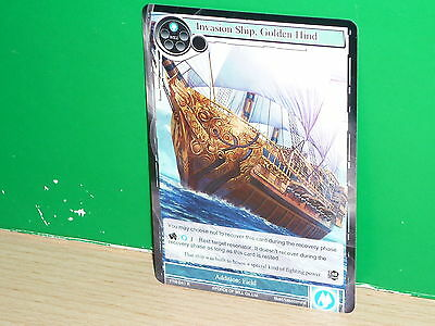 FOW Force of Will - TTW-041 Invasion Ship, Golden Hind