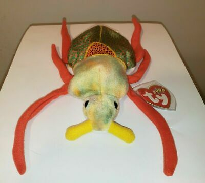 Ty Beanie Baby ~ SCURRY the Beetle ~ MINT with MINT TAGS ~ RETIRED