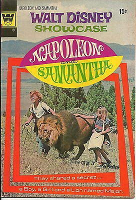 "1972 Walt Disney Showcase ""Napoleon & Samantha"" Comic Book #10 NM"