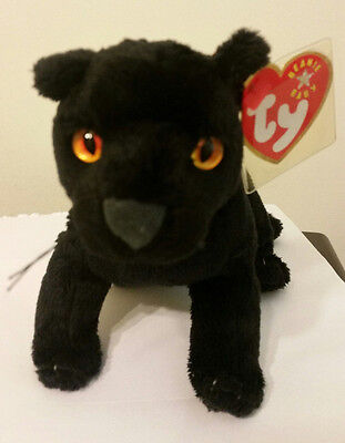 Ty Beanie Baby ~ MIDNIGHT the Black Panther ~ MINT with MINT TAGS ~ RETIRED ef3a4e80c0a