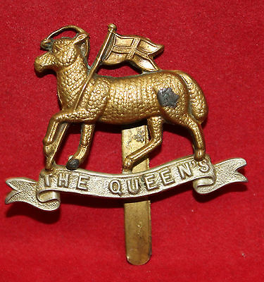 British, The 22nd County of London Battalion, (The Queens) Cap Badge (Inv 6201)