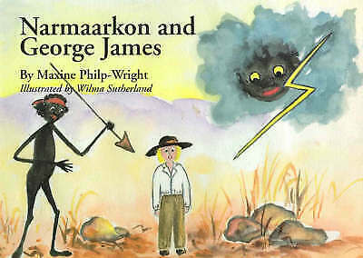 Narmaarkon and George James by Maxine Philp-Wright