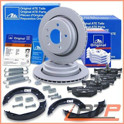 Genuine Ate Brake Discs + Pads Rear Axle Vented  Ø298 Bmw 5 Series E39