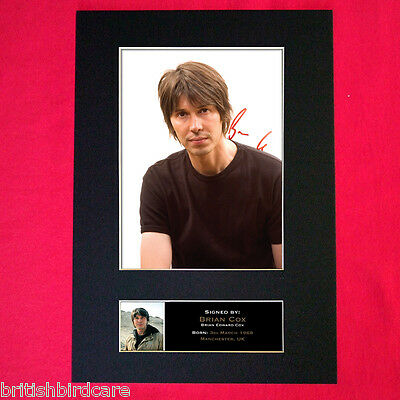 BRIAN COX physicist Mounted Signed Photo Reproduction Autograph Print A4 337