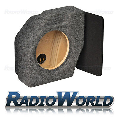 "Audi A4 B8 Avant Estate Custom Fit MDF 10"" Sub Box Subwoofer Enclosure Bass"
