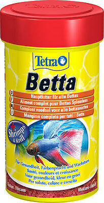 Tetra Betta Food 27g +shrimps &krill