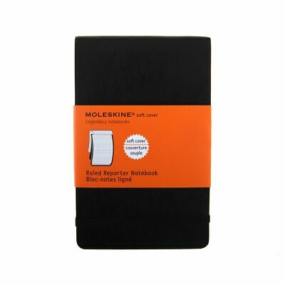 Moleskine Soft Cover Reporters Notebook Ruled 192 Pages 96 Sheets