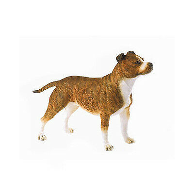 Country Artists Dogs *staffordshire Bull-Brindle* 06293 Rrp £23!