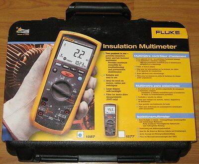 Fluke 1587 Insulation Tester & Multimeter & Megger Brand New