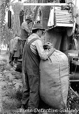 Mechanical Hop Picker Washington 1941 Yakima Historic Photo Print