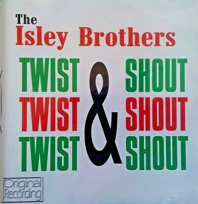 NEW SEALED - THE ISLEY BROTHERS - TWIST & SHOUT - Pop R&B Soul Music CD Album
