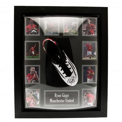 Ryan Giggs - Framed Signed Football Boot